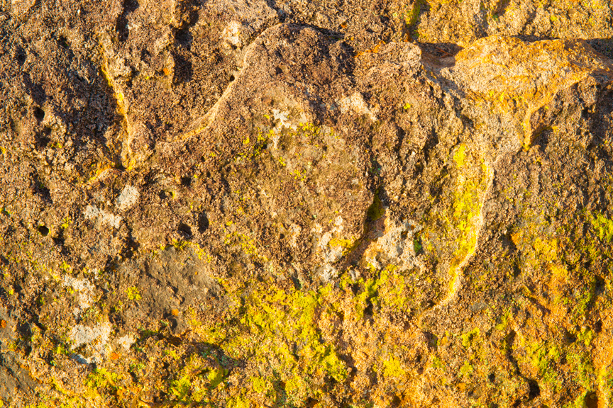 Rock Abstract  (heavily saturated)