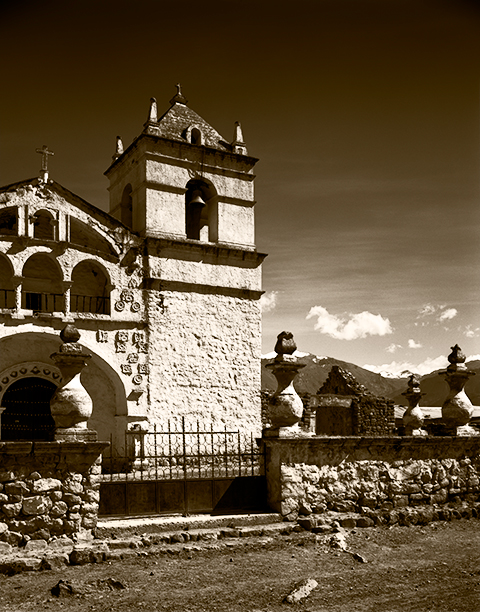 Church On The Way To Colca