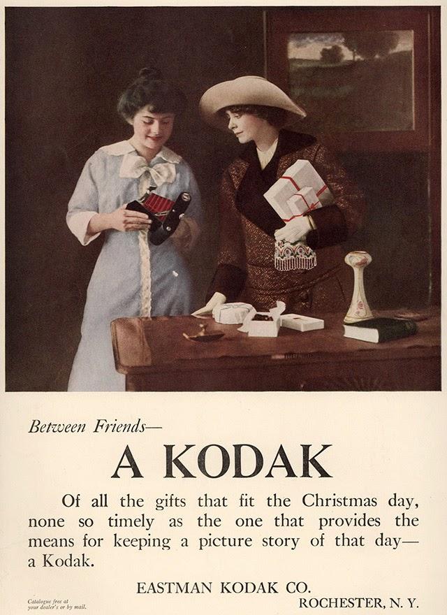 Kodak ad using a photograph