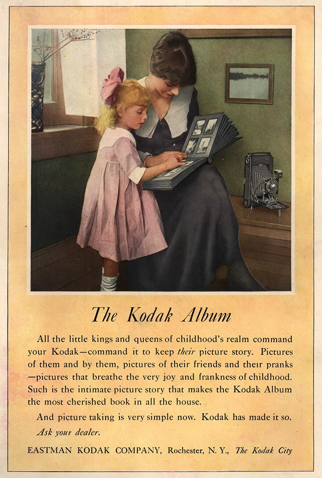 Kodak Ad using a drawing